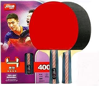 DHS Ping Pong Paddle 4003 Raquette de Tennis de Table Longue Poignée