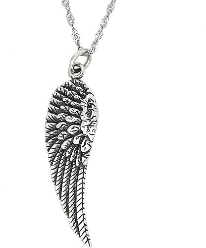 plata colgantes de Angel 51 X 17 mm 10 un Grande Ala de ángel encantos