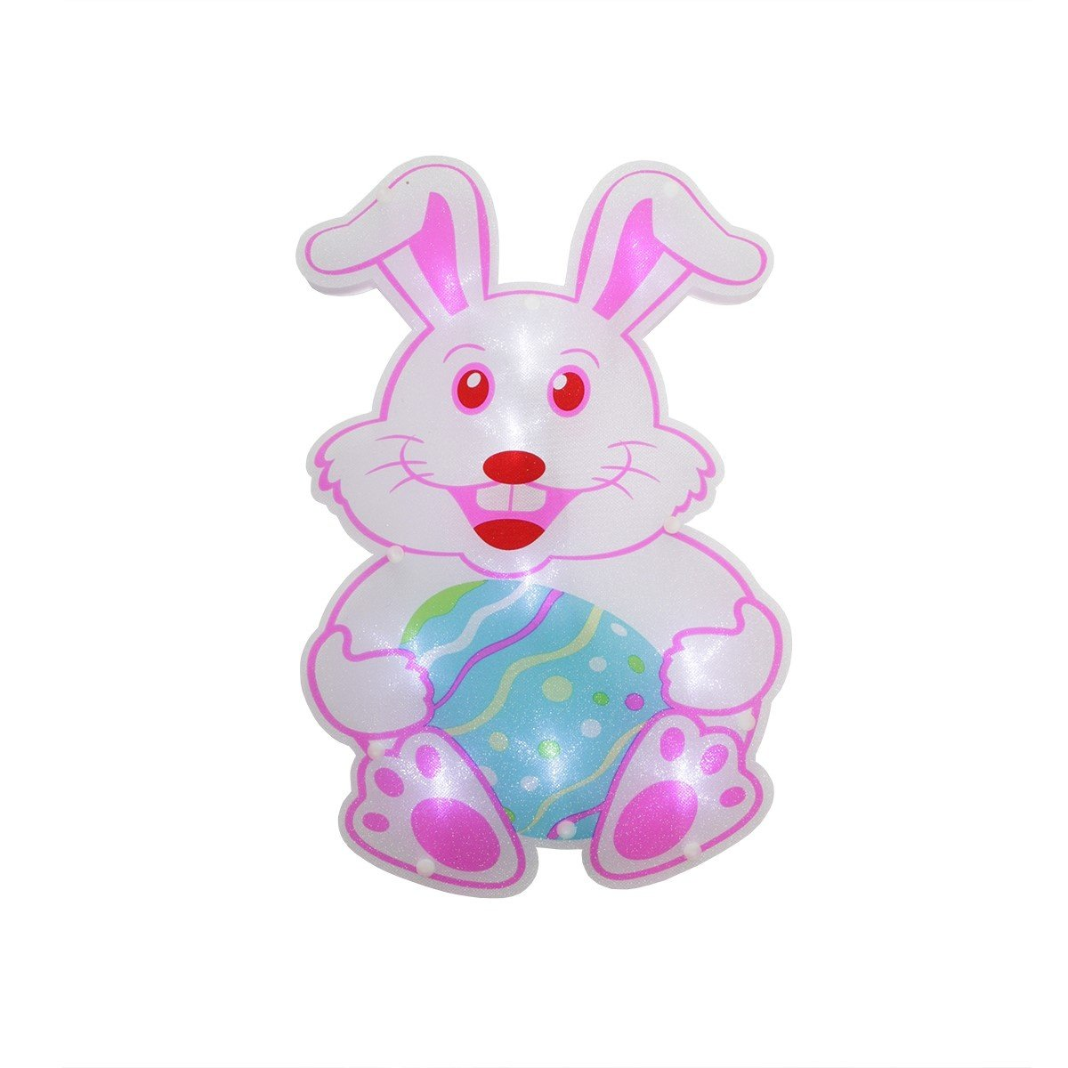 Sienna Lighted Easter Illumination Window Light - Easter Bunny