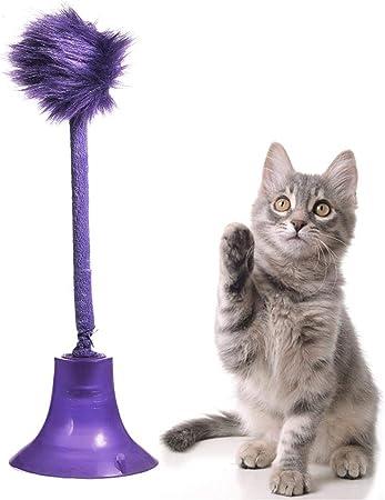 Juguete interactivo para gatos, muñeco de peluche, juguete de aspirador de gatos, juguete de peluche, divertido