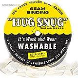 "100yds 1/2"" Schiff Seam Binding Hug Snug Ribbon Color Eggshell #001"
