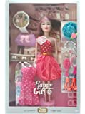 SUPER TOY Stylish Doll with Accessories Toy Set for Girls