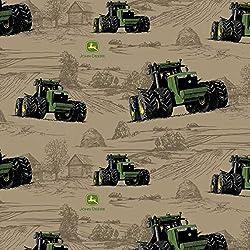 Springs Creative John Deere Fabrics John Deere Big Time Farm