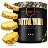Redcon1 Total War - Pre Workout, 30 Servings, Boost Energy, Increase Endurance and Focus, Beta-Alanine, Caffeine (Pineapple J
