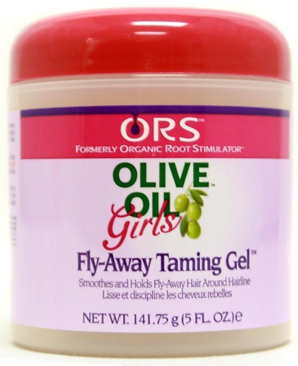 Organic Root Stimulator Girls Hair Gel Fly-Away Taming, 5 oz (Pack of 6)