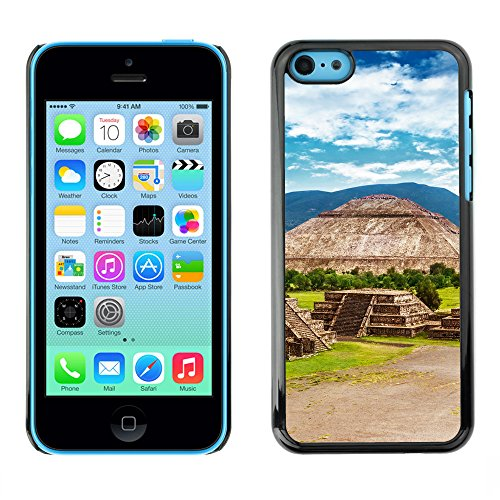 Premio Sottile Slim Cassa Custodia Case Cover Shell // V00002646 Pyramides du Mexique // Apple iPhone 5C