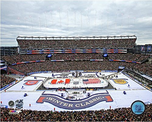Boston Bruins Gillette Stadium NHL Winter Classic Photo (Size: 8