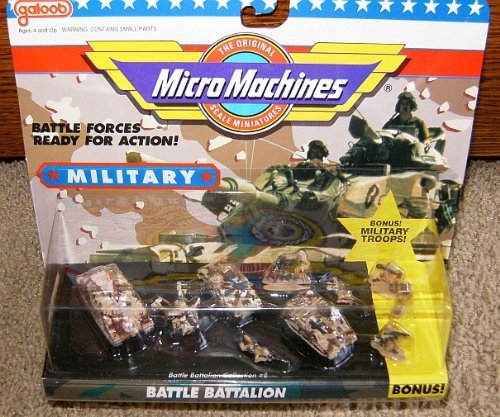Combat Force Micro Helicopter - Micro Machines Battle Battalion #8 Military Collection