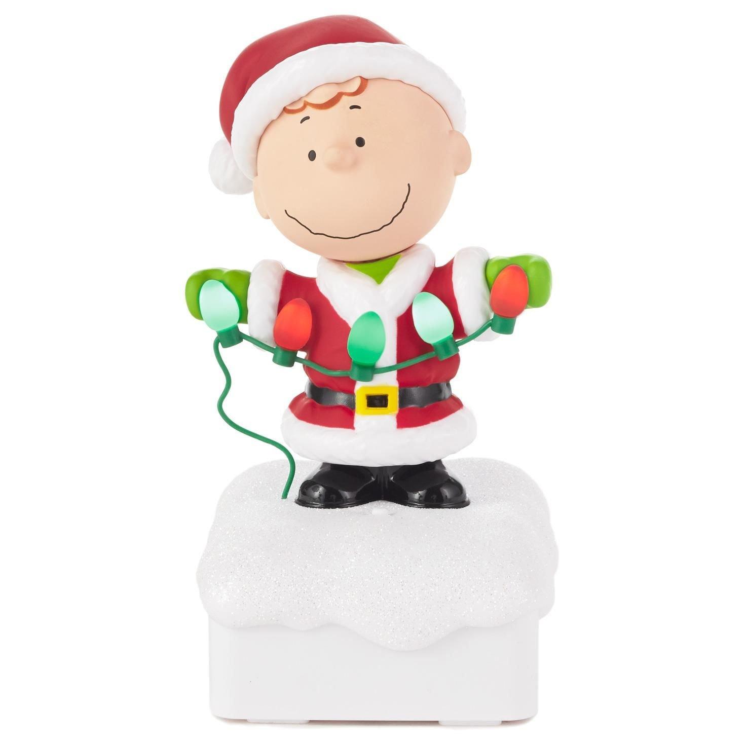 Amazon.com: Hallmark Charlie Brown Peanuts® Gang Christmas Light ...