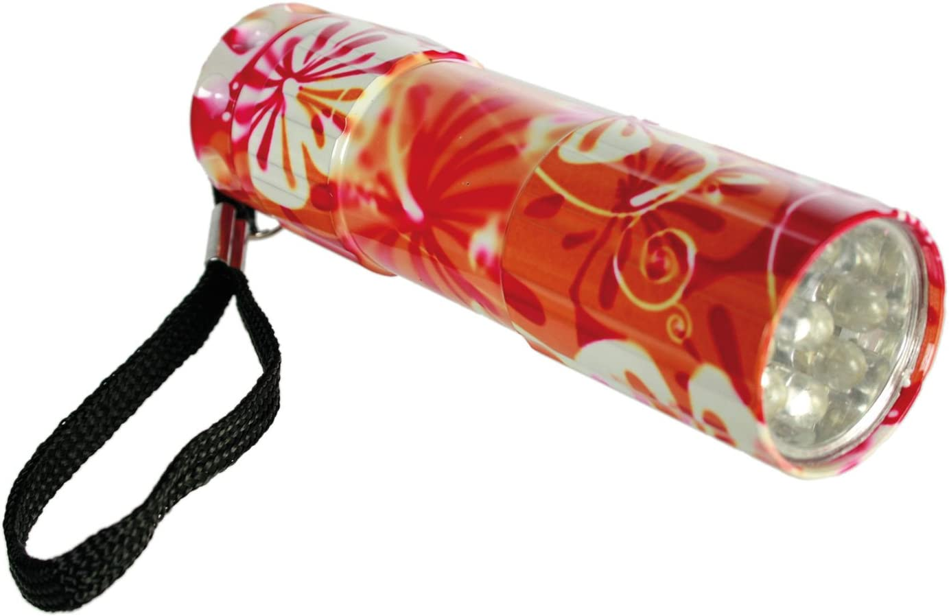 sortiert Taschenlampe Retro Hawaii mit 9 LED Out of the Blue 579572