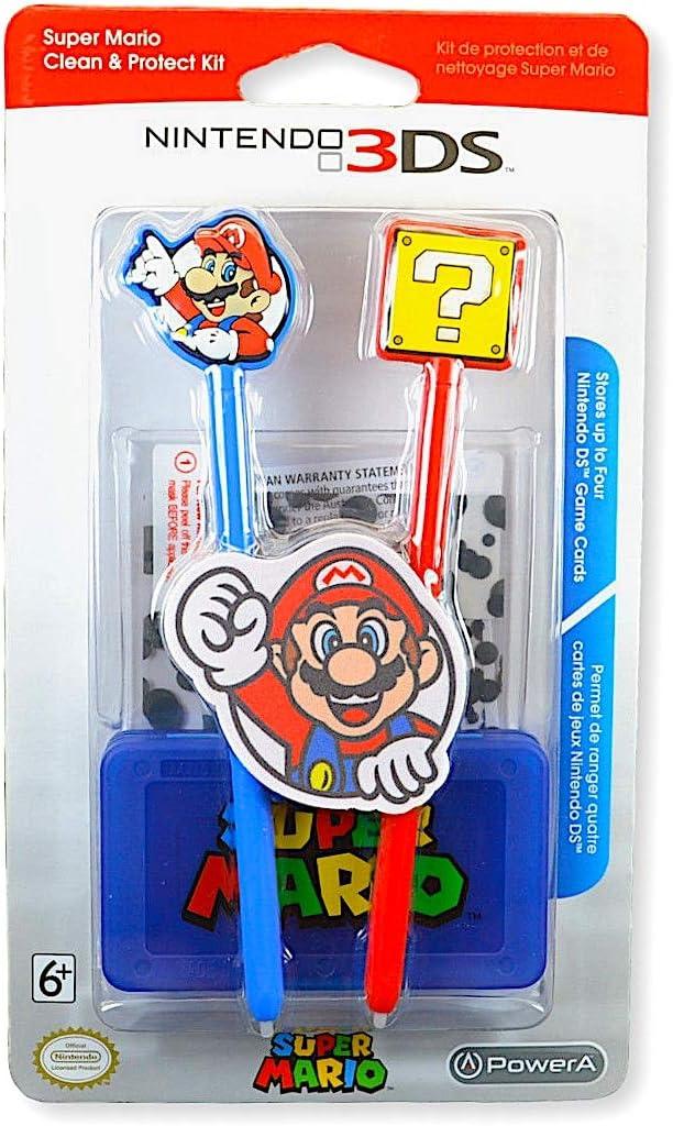 Amazon.com: Nintendo 3DS Super Mario Stylus Clean and ...