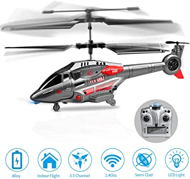 KOOWHEEL Helicóptero Teledirigido del Helicópteros de radiocontrol ...