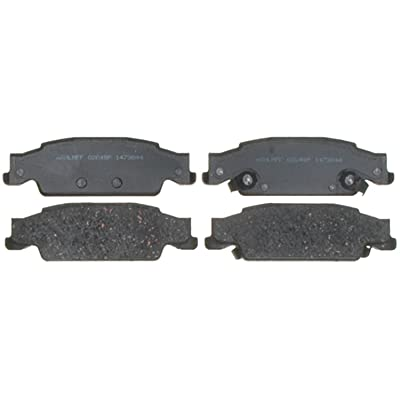 ACDelco 14D922CH Advantage Ceramic Rear Disc Brake Pad Set with Hardware: Automotive