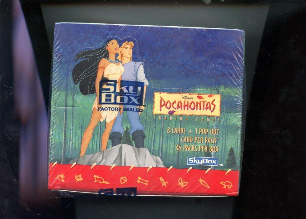 Pocahontas Disney Movie Card Box