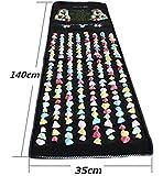 フットマッサージ ヘルスロード 健康足つぼマット 足ツボ 刺激 模造石畳の歩道室内運動