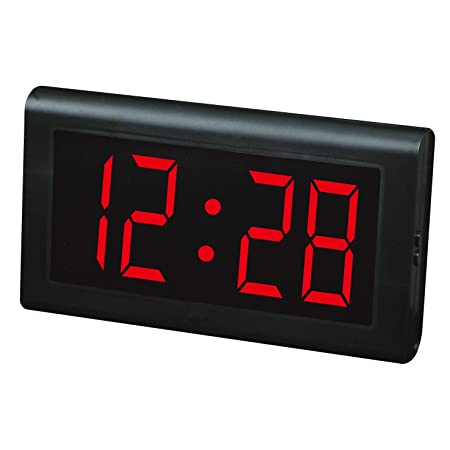 ZHIYUAN LED Clocks Table clockLED Wall Clock Big numbers Large