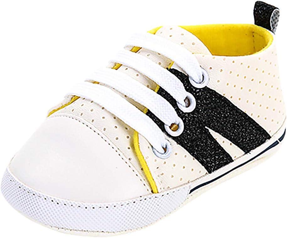 Sunbona Newborn Baby Girls Lace Up Bandage Sandals Soft Sole Anti-Slip Summer Prewalker Toddler Sneaker Shoes