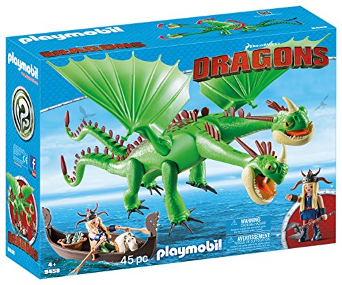 Dragon Boat Race - How to Train Your Dragon Twins with Barf and Belch