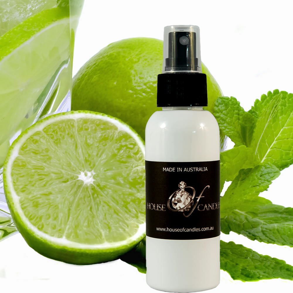 Wild Mint & Citrus Limes Foot Spray Mist/Shoe Deodoriser Spray XSTRONG 50ml/1.7oz VEGAN & CRUELTY FREE House Of Candles
