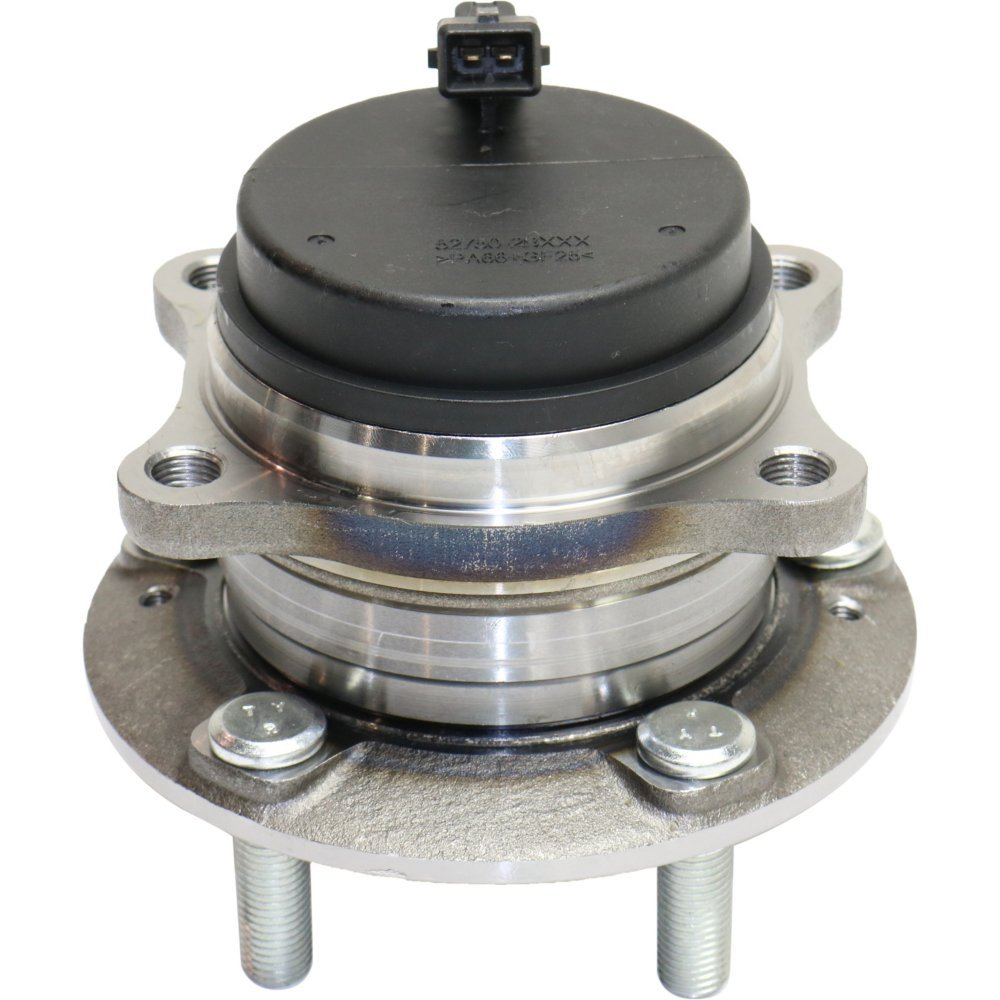 Wheel Hub and Bearing compatible with 2007-2016 Hyundai Santa Fe Rear Left or Right FWD With ABS Sensor Studs by Evan Fischer
