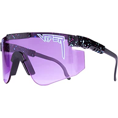 c96c51ec7b Pit Viper Fade Lens Sunglasses - Purple -  Amazon.co.uk  Clothing