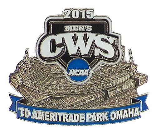2015 Ncaa College World Series Ameritrade Park Omaha Pin