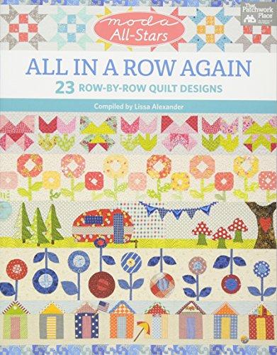 Moda All-Stars - All in a Row Again: 23 Row-by-Row Quilt - Row Cat