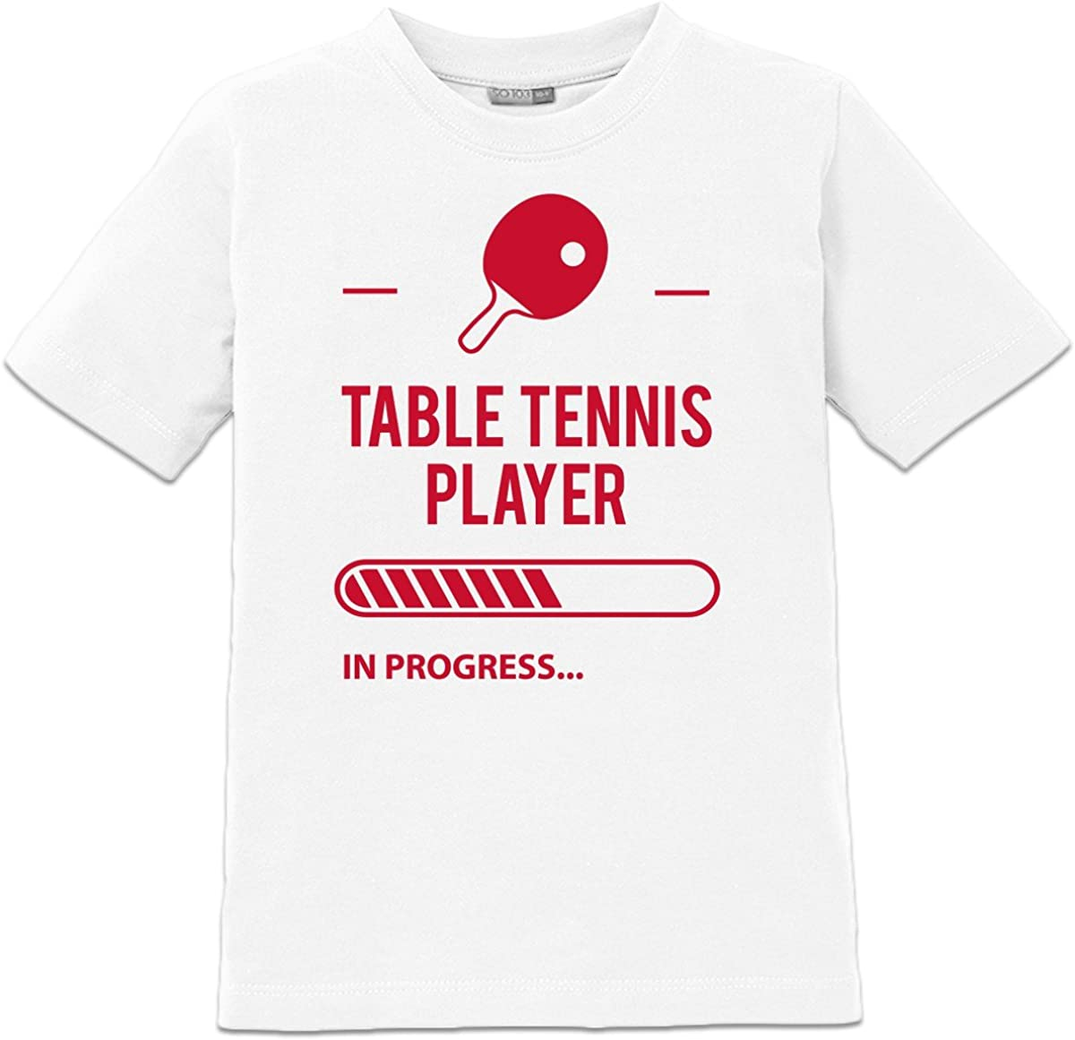 Camiseta de niño Table Tennis Player in Progress by Shirtcity