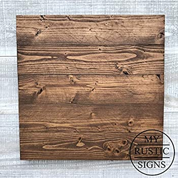 Amazon.com: Lara's Crafts Barn Wood Rustic Plank Sign with ...