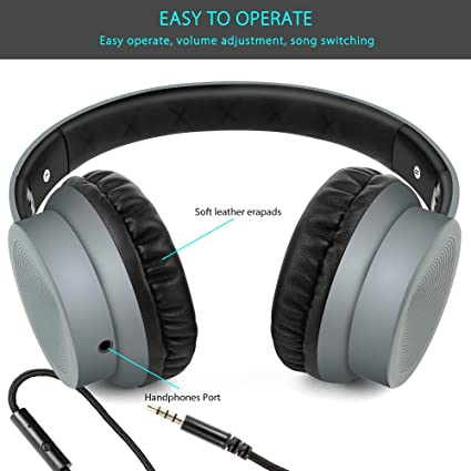 HUOGUOYIN Computer Headset Wired Phone Headset 3D Stereo Surround Sound Headset Foldable Soft Earphone 3.5MM Earphone Headset Gaming Gaming Headset Color : Green EP19