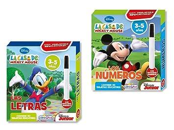 Cartas Educativas Casa De Mickey Mouse 11x8cm Surtido A ...