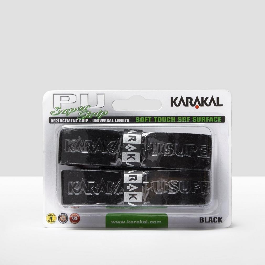 KARAKAL Universal PU Grip de Sustitución - Packs de 2, Negro karakal15054