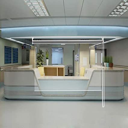 HYDT Persianas Enrollables Transparentes Gruesas para Puerta ...