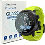 Compatiable for Suunto D5 Screen Protector, Poyiccot (2pack) 0.3mm Ultra-Thin 9H Hardness Scratch Resistant Tempered…