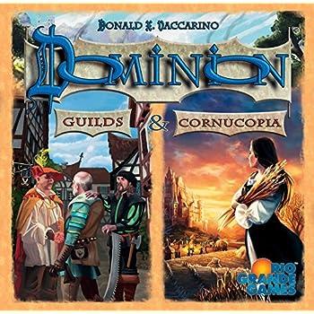 Dominion Cornucopia and Guilds Card Game