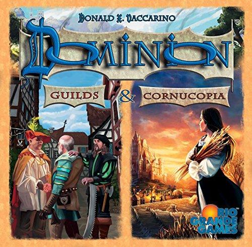 Dominion Cornucopia and Guilds Card Game by Rio Grande Games