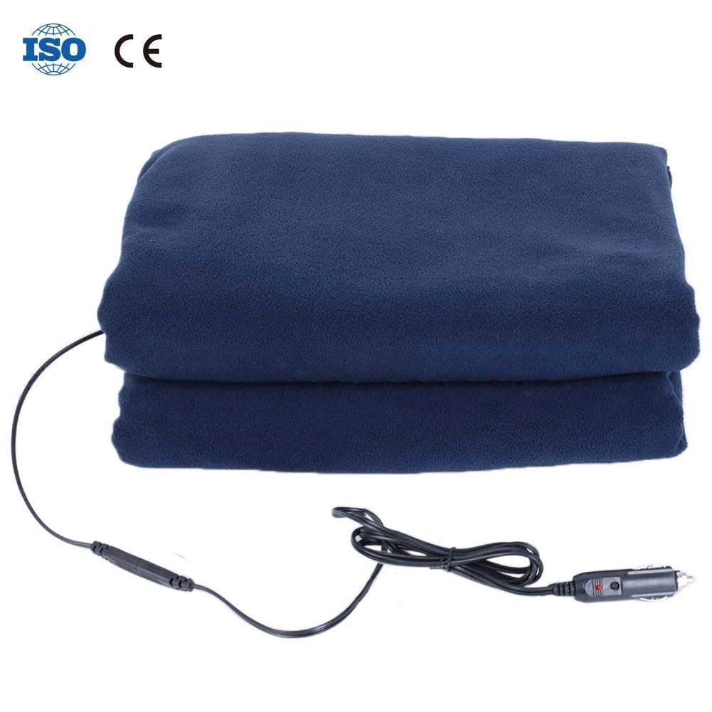 U-smile car Electric Blanket car Constant Temperature Heating Blanket Electric Blanket with car Adapter Electric 12V Heating Travel car Blanket