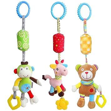 Toymytoy 3 Pcs Kinderwagen Kinderwagen Spielzeug Bunte Babybett