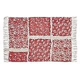 quilt rug - VHC Farmhouse Flooring - Isabella Stenciled Patchwork Rug, 1'8
