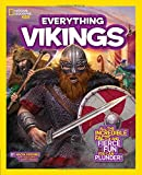 img - for National Geographic Kids Everything Vikings: All the Incredible Facts and Fierce Fun You Can Plunder book / textbook / text book