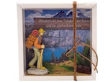 Zauberdeko Geldgeschenk Verpackung Wanderer Wanderurlaub Berge