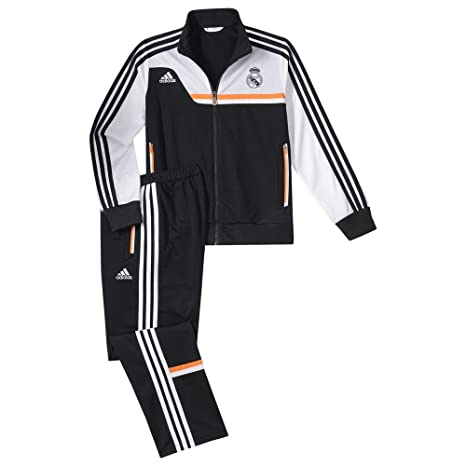 adidas Chándal Real Madrid PES -Junior- 2013-14: Amazon.es ...