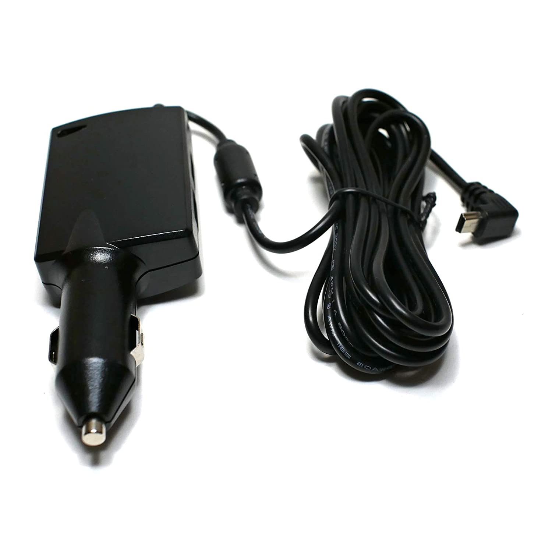 10 Cable EDO Tech Car Charger Adapter Power Cord for Garmin Nuvi 55lmt 66lmt 2557lmt 2597lmt 2598lmt 2599lmt Drive 40 50lm 51lmt 52 60lm 61lm 70 Driveassist 51lmt-s Traffic Built in GPS Navigator