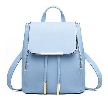 Rrimin PU Leather Backpack School Bag Student Backpack Women ...