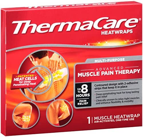 Ice & Hot Packs: ThermaCare Advanced Muscle Pain