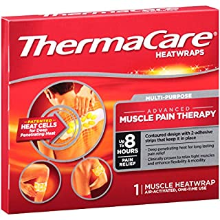 ThermaCare Advanced Multi-Purpose Muscle Pain Therapy Heatwraps, Up to 8 Hours of Pain Relief, Temporary Relief of Muscular Pains, 1 Count (Pack of 1)