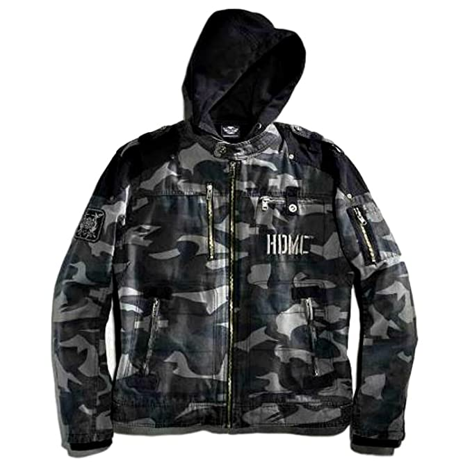 a8ce46f3d48e2 Harley-Davidson Men's Evader 3-in-1 Canvas Jacket, Camouflage, 2X ...