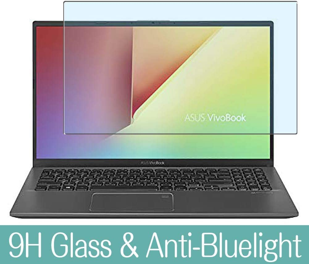 "Synvy Anti Blue Light Tempered Glass Screen Protector for ASUS VivoBook 15 F512 / F512FA / F512DA 15.6"" Visible Area 9H Protective Screen Film Protectors"
