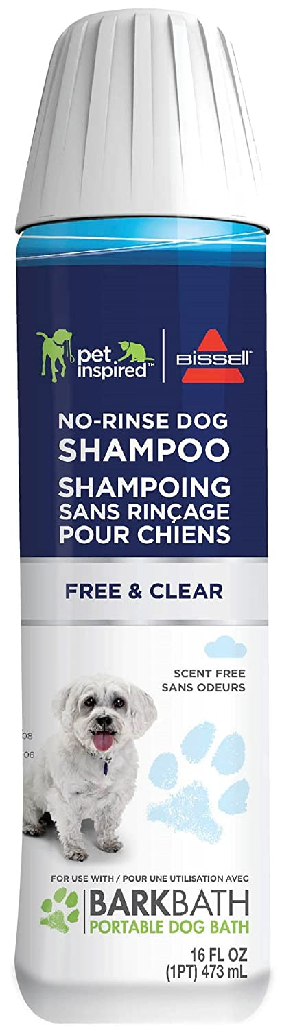 Bissell Free and Clear No Rinse Dog Shampoo (2 Pack), 2172A