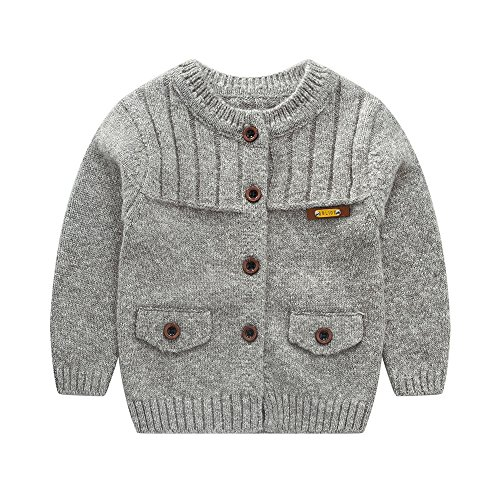 Gray Boys Sweater - 7